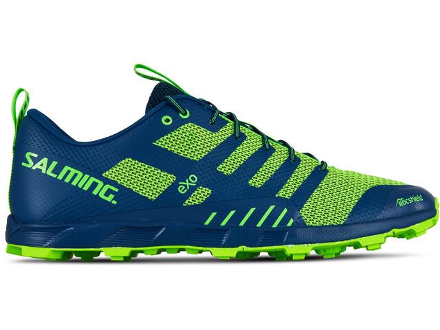 Salming OT Comp - Zapatillas running Hombre - verde/azul
